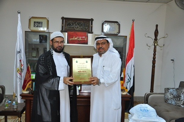 Exceptional Quran House Of The Imam Hussein Holy Shrine Received Some Heads Of Quran  Foundations From Saudi Arabia And Kuwait. During A Meeting They Held, ...