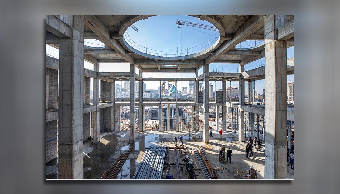 В Священной Кербеле продолжается строительство комплекса Госпожи Зейнаб (са) ФОТО