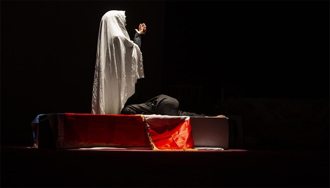 المسرح لغة الوجود الانساني.. (فاجعة رقية)