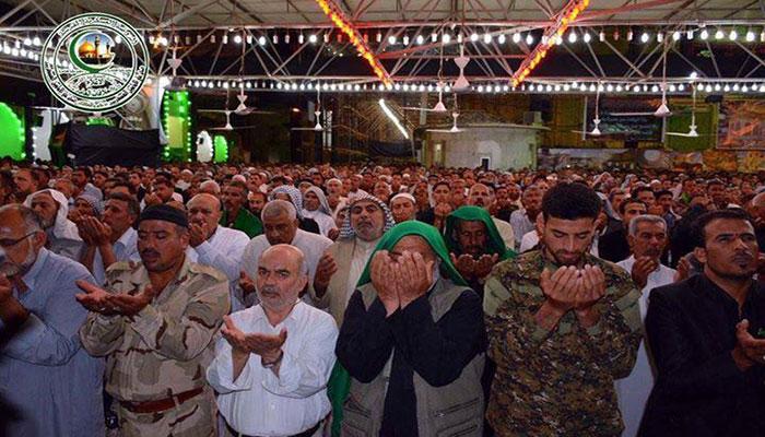 ارتفاع عدد زائري مدينة سامراء المقدسة إلى مليوني زائر بمشاركة 840 موكباً وهيئة خدمية