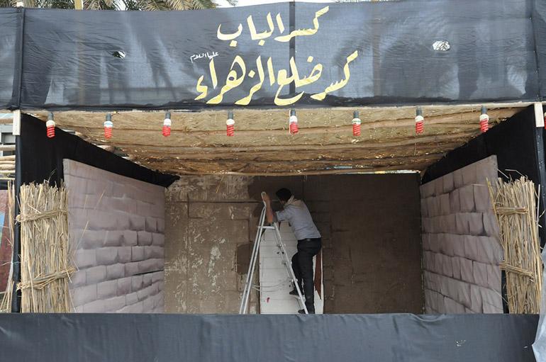 بالصور: مأساة الزهراء تعود منطقة