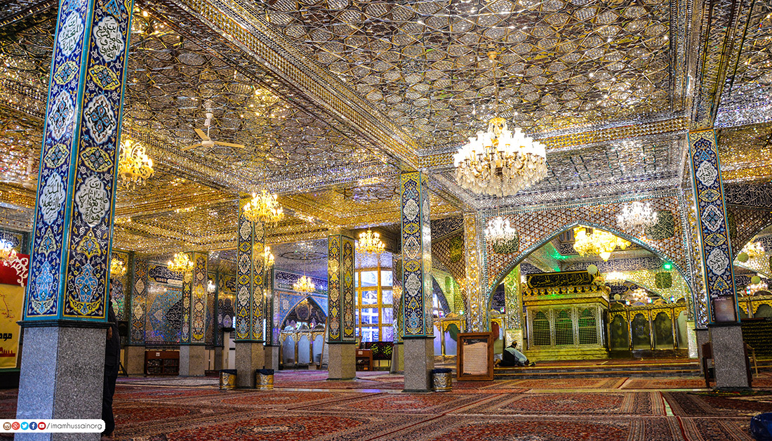 مرقد السيدة خولة بنت الحسين عليهما السلام في بعلبك بلبنان