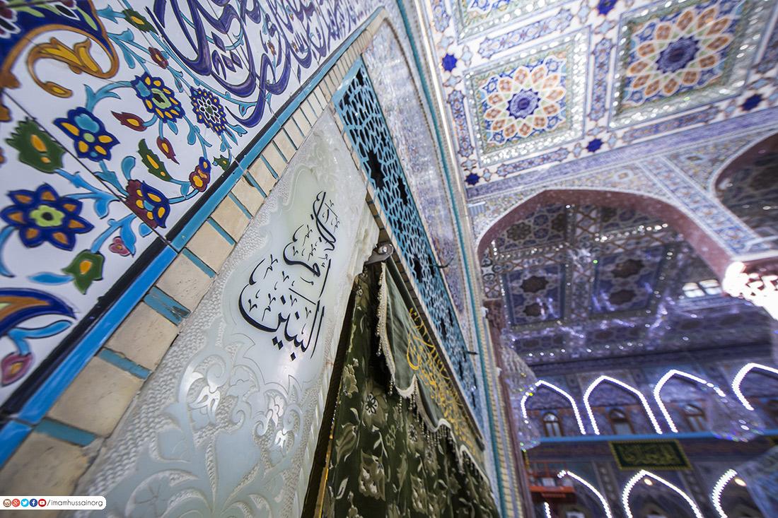صور .. ابواب الدخول الى حرم الحسين