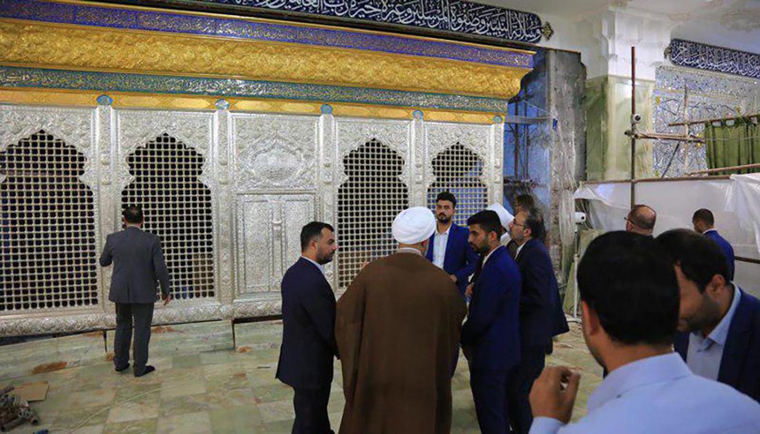 بالصور .. صور حصرية لسرداب الغيبة الجديد في مرقد العسكريين