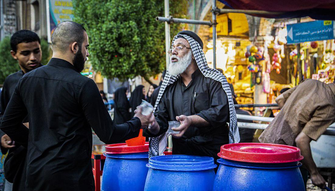 بالصور .. انتشار كثيف للمواكب الحسينية في كربلاء