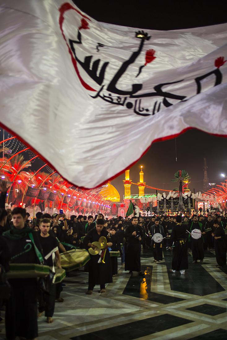 مراسيم ليلة السابع من محرم في كربلاء