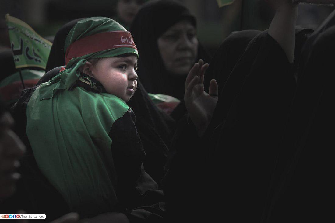 عزاء عبد الله الرضيع بن الإمام الحسين عليهما السلام