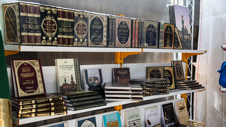 بالصور .. معرض تراتيل سجادية الدولي الخامس للكتاب في كربلاء
