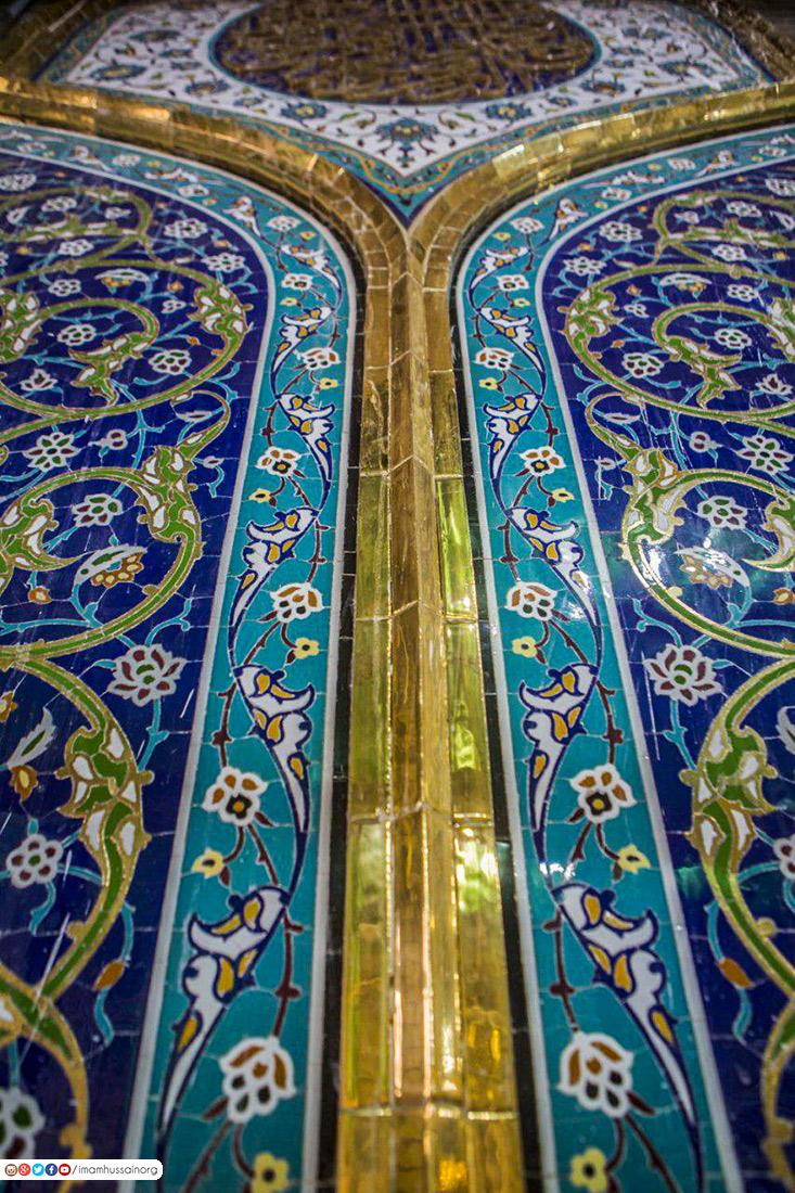 آغاز طلاکاری مسجد سهله در نجف اشرف