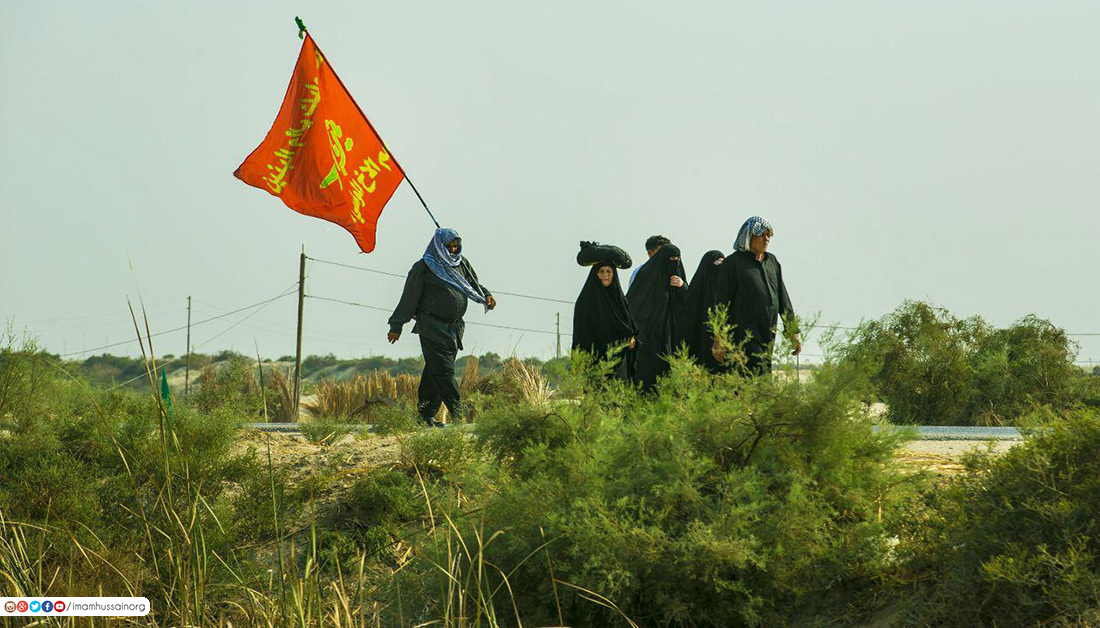 In picture: Long distances Arbaeen pilgrims cross on foot to Imam Hussain (Peace Be Upon Him)