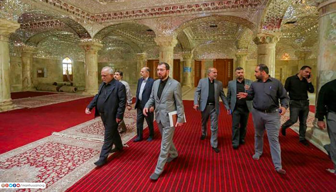 In picture: New sanctuary prepared to receive Arbaeen pilgrims