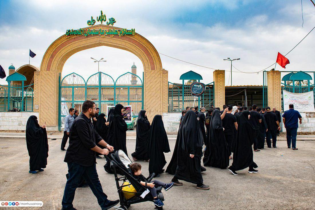 تصاویری از مرقد مطهر صحابی جلیل القدر سلمان محمدی