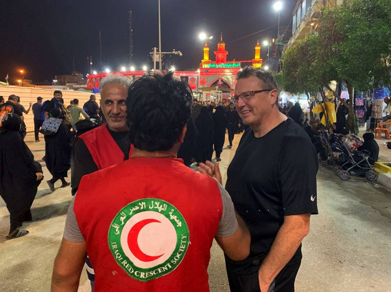 American Pastor after participating in Arbaeen Pilgrimage: I went there and I never felt safer