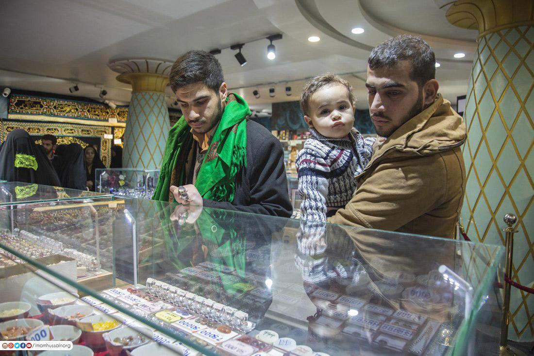 نمایشگاه اشیای متبرکه حرم مطهر حسینی