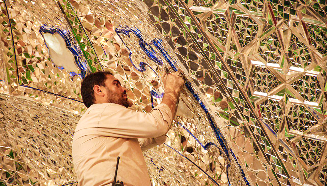 New constructional works achieved inside Imam Hussain Shrine