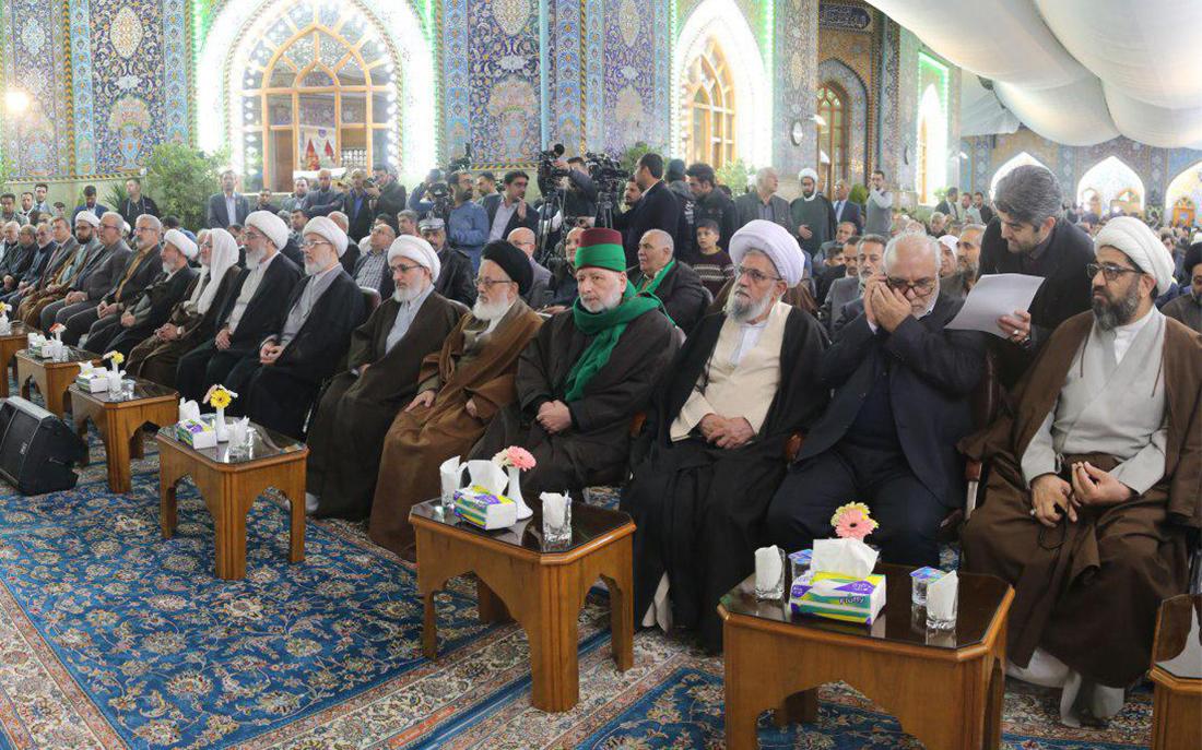 رونمایی از ضریحهای جدید خیمه گاه حسینی