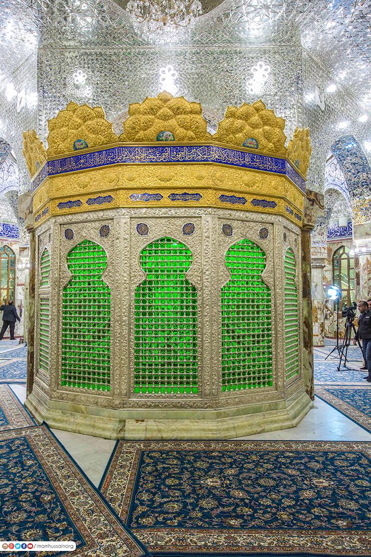 تصاویری منحصر به فرد از خیمه گاه حسینی پس از تسقیف و مرمت