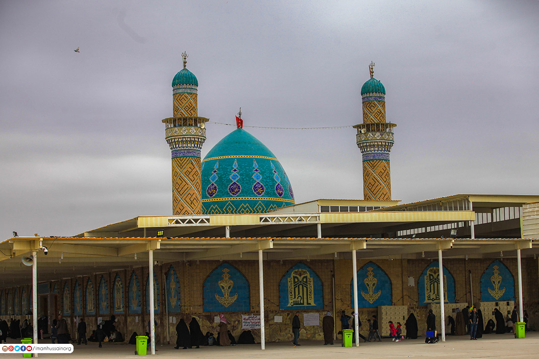 مرقد مطهر سید احمد غریفی معروف به حمزه شرقی در استان دیوانیه عراق