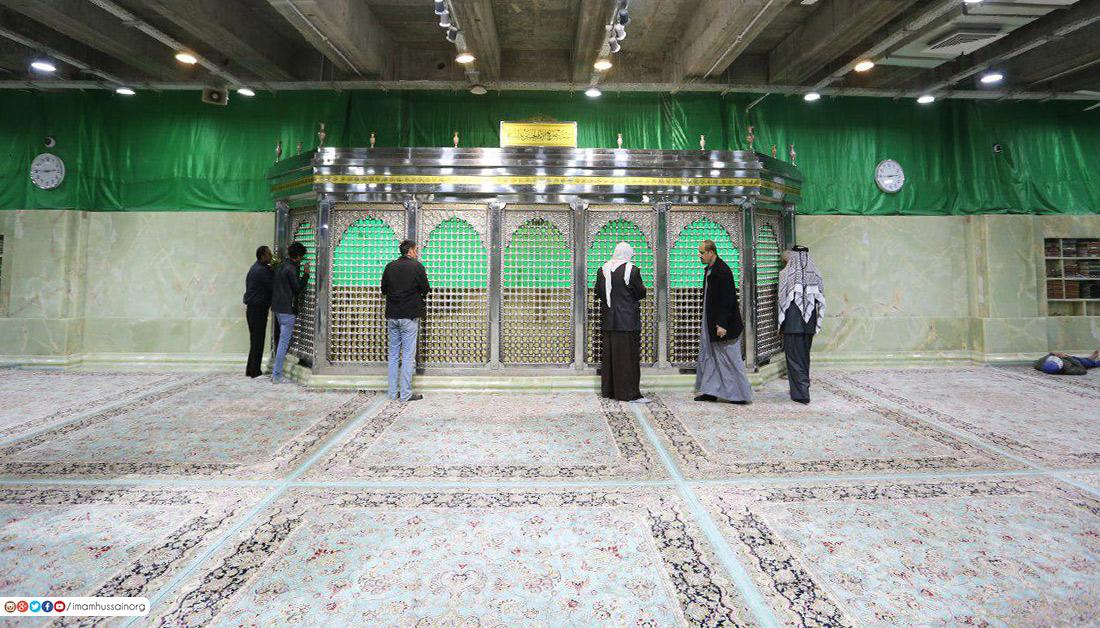 صور حصرية لسرداب الشهداء داخل الصحن الحسيني الشريف
