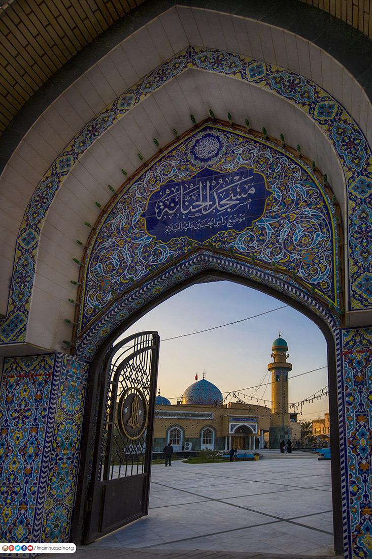 تصاویری از مسجد حنانه - نجف اشرف