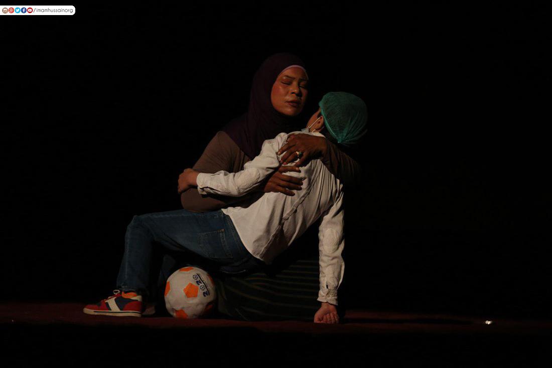 بالصور .. عروض مسرحية للاطفال في كربلاء