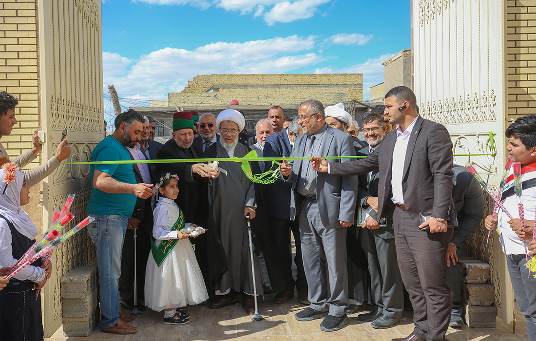 العتبة الحسينية تضع حجر الاساس لمجمع طبي بمواصفات عالمية يقدم خدماته (مجانا) للايتام وعوائلهم