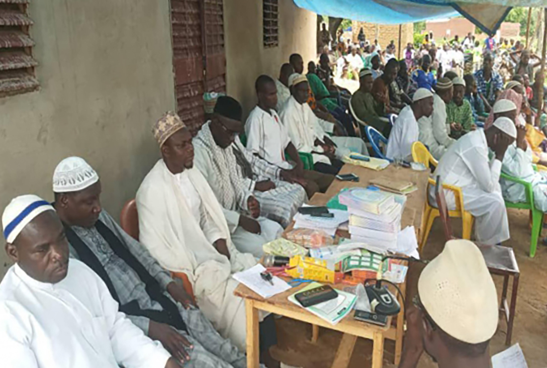 في صحراء افريقيا.. العتبة الحسينية تفتتح الدورات الصيفية لطلبة دولة (بوركينا فاسو) بحضور 500 شخصية