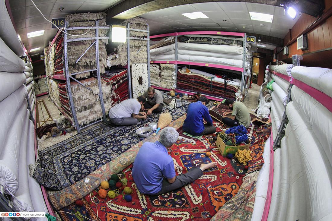 بالصور: في مرقد الامام الحسين.. كنوز لاتقدر بثمن