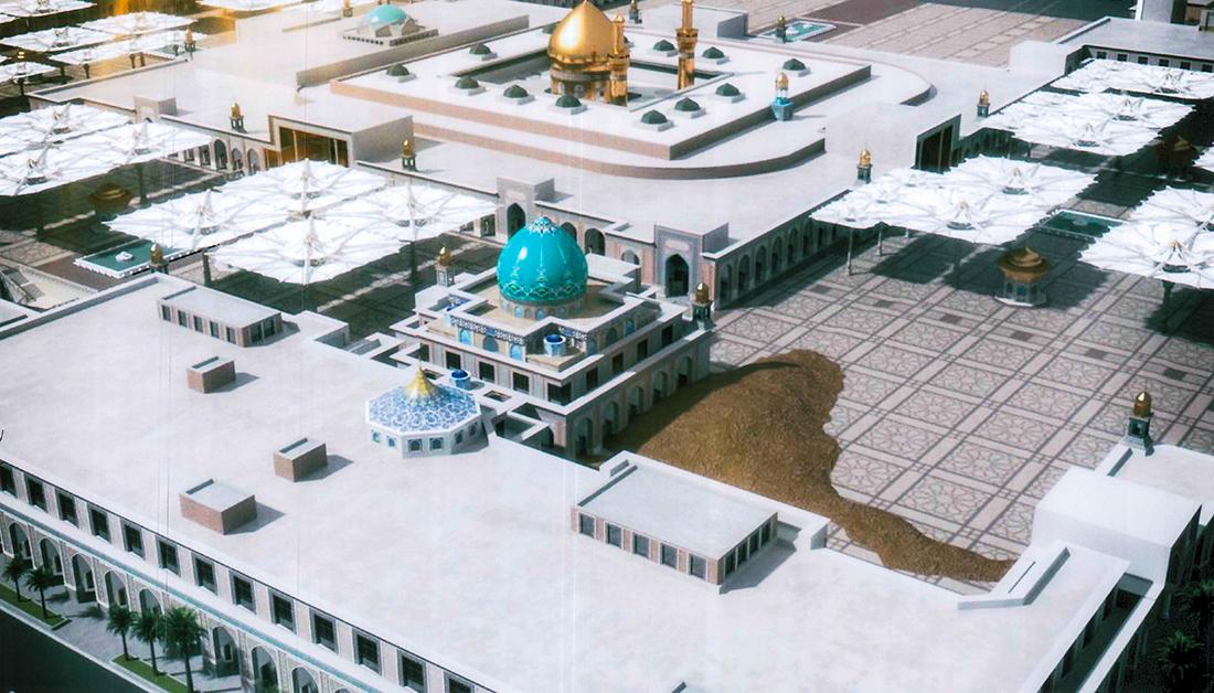 بالتفاصيل: تعرف على نسب الانجاز في مقام التل الزينبي المجاور لمرقد الامام الحسين (ع) والشكل النهائي له