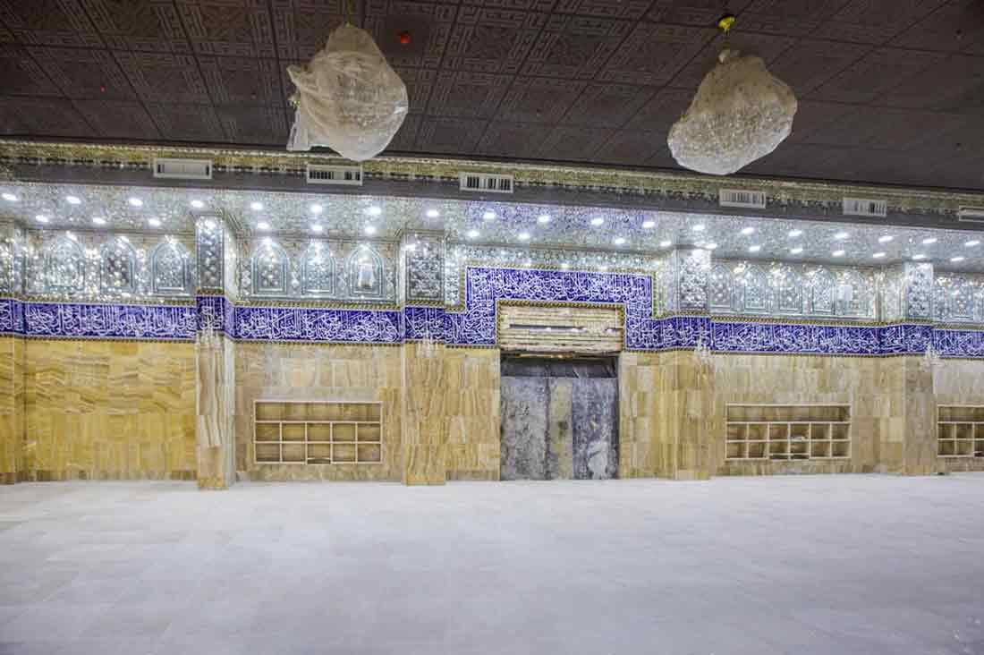 عمل متواصل لافتتاح مقام الامام المهدي (ع) بحلته الجديدة بالتزامن مع ذكرى ولادته