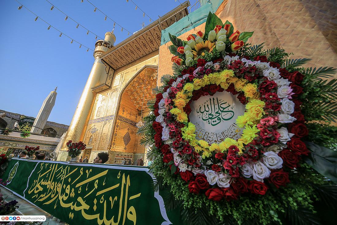 Photos: Decorating Imam Ali holy shrine on auspicious birth of Imam Hasan Mujtaba