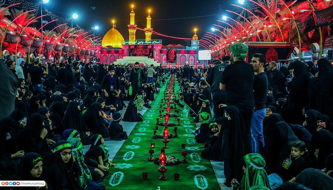Le quinzième jour du mois de Safar . Un jour de deuil pour la famille prophétique . | Le Mausolée de l'Imam Hussein