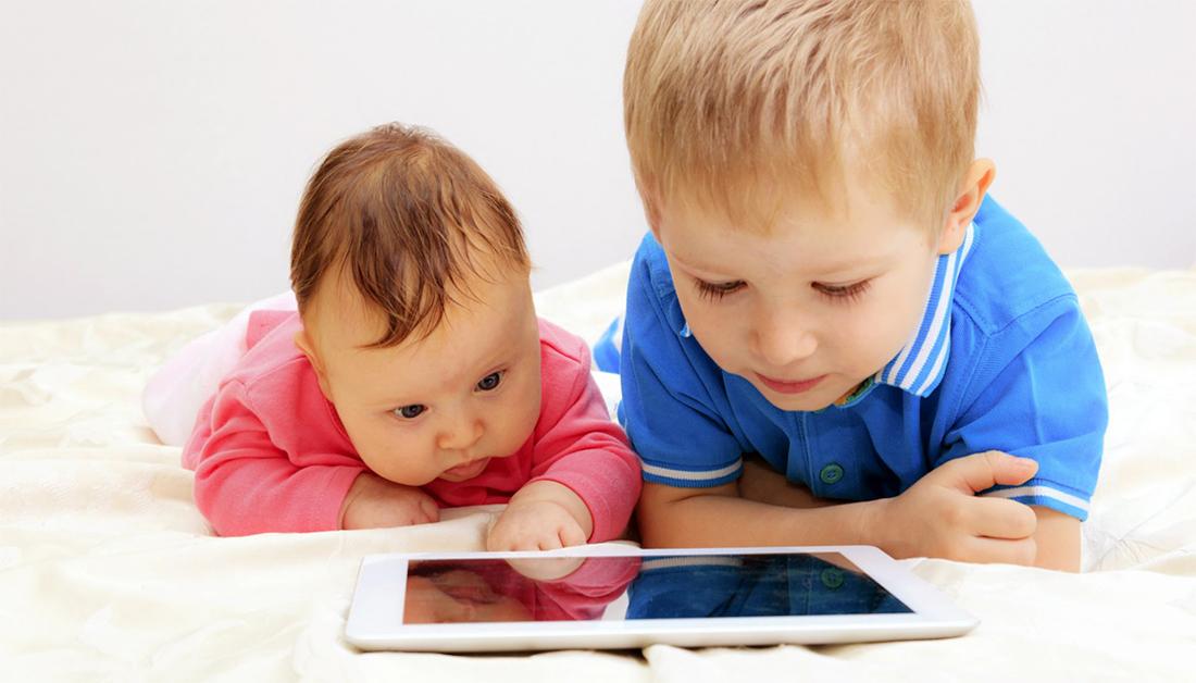 خماسية رقمية لتغيير الطفل تكنولوجيا