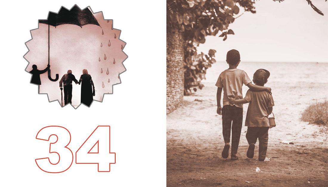 للقوارير العدد (34)